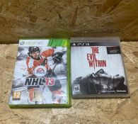 2 X ASSORTED CONSOLE GAMES