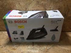 1 X BOSCH SENSIXX DA30 POWER IV IRON / RRP £40.00