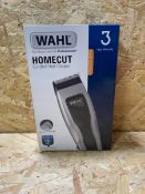 1 X WAHL HOMECUT CORDED HAIR CLIPPERS / RRP £29.99