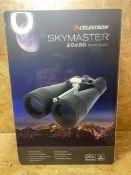 1 X CELESTRON SKYMASTER 20X80 BINOCULARS / RRP £159.99