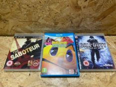 1 X LOT OF ASSORTED GAMES