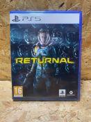 1 X PS5 RETURNAL GAME / RRP £59.99
