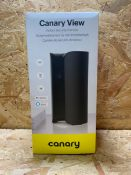 1 X CANARY VIEW INDOOR SECURITY CAMERA / RRP £149.00