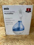 1 X ANSIO HUMIDIFIER / RRP £29.00