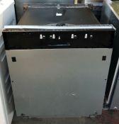 BOSCH SERIE 2 SMV40C30GB FULY INTEGRATED DISHWASHER