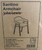 JOHN LEWIS SANTINO DINING ARMCHAIR