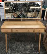 ERCOL FOR JOHN LEWIS SHALSTONE DRESSING TABLE