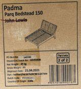 JOHN LEWIS PADMA PARQUET BED FRAME, KING SIZE
