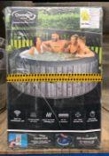 1 x CLEVERSPA IBEAM WAIKIKI 6 PERSON HOT TUB - RRP £524.12