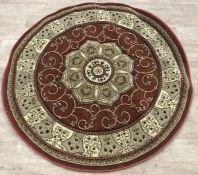 LA REDOUTE SO'HOME TRADITIONAL PERSIAN CIRCLE RUG / DIAMETER 150cm