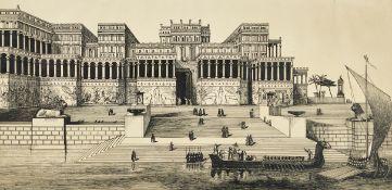 ANONYM, 19. JH.: Rekonstruktion von Ninive.