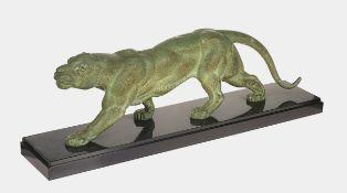 CHIPARUS, DÉMÉTER HARALAMB: Schreitender Panther.