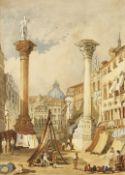 ITALIEN, 18./19. JH.: Paar Ansichten von Vicenza.