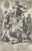 """GOLTZIUS, HENDRICK: """"Roma - Allegorie von Rom""""."""