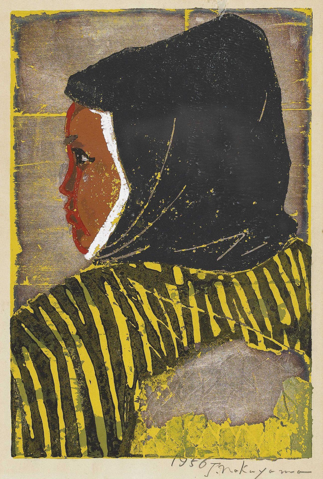 NAKAYAMA, TADASHI: Wife in profile.