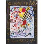 "TINGUELY, JEAN: ""Grand Prix Gollion""."