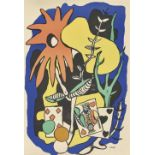 """LÉGER, FERNAND: """"The King of Hearts""""."""