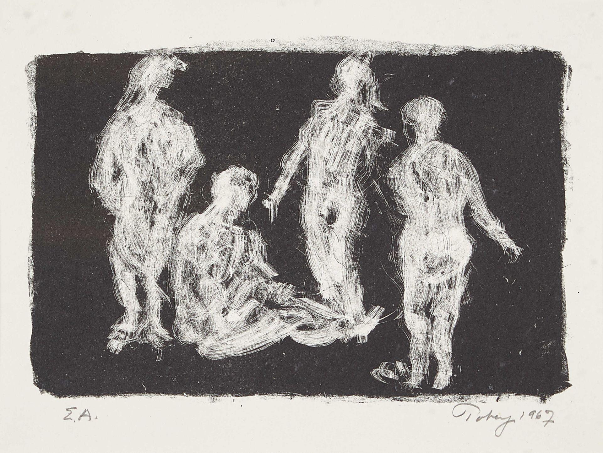 TOBEY, MARK: Vier Frauen.