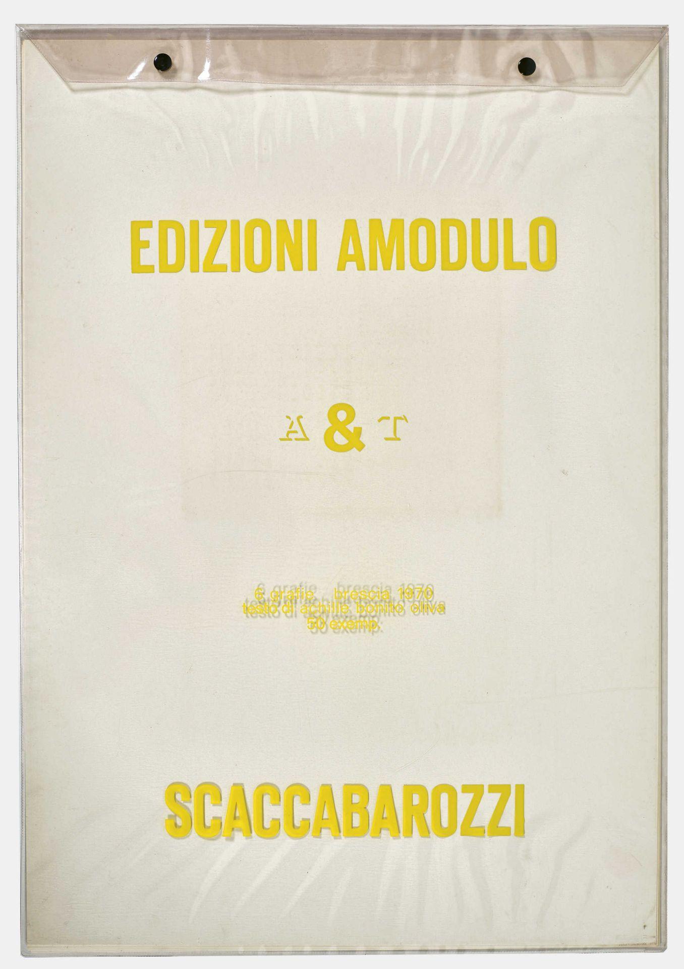 "SCACCABAROZZI, ANTONIO: ""A&T"". - Bild 2 aus 2"