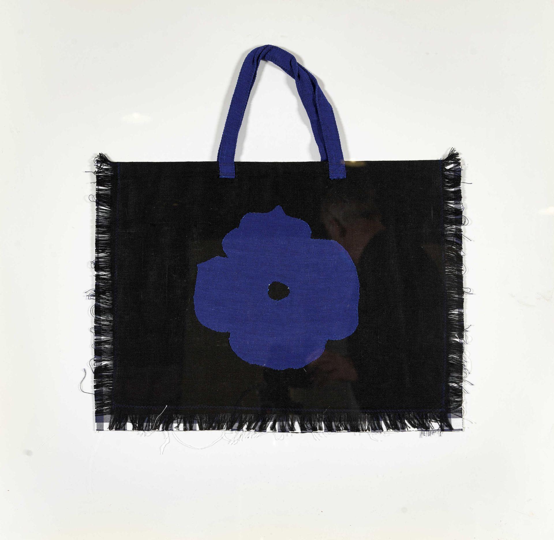 SULTAN, DONALD: Handtasche.