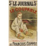 """STEINLEN, THÉOPHILE-ALEXANDRE: """"Le Coupable""""."""