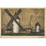 BUFFET, BERNARD: Les moulins.