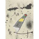 """MIRÓ, JOAN: Rafael Alberti: """"Maravillas con variaciones acrosticas en el Jardin de Miró""""."""
