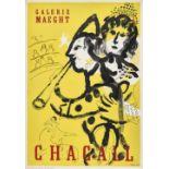 "CHAGALL, MARC: ""Galerie Maeght Chagall""."