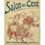 """WILLETTE, ADOLPHE LÉON: """"Salon des Cent 1897""""."""