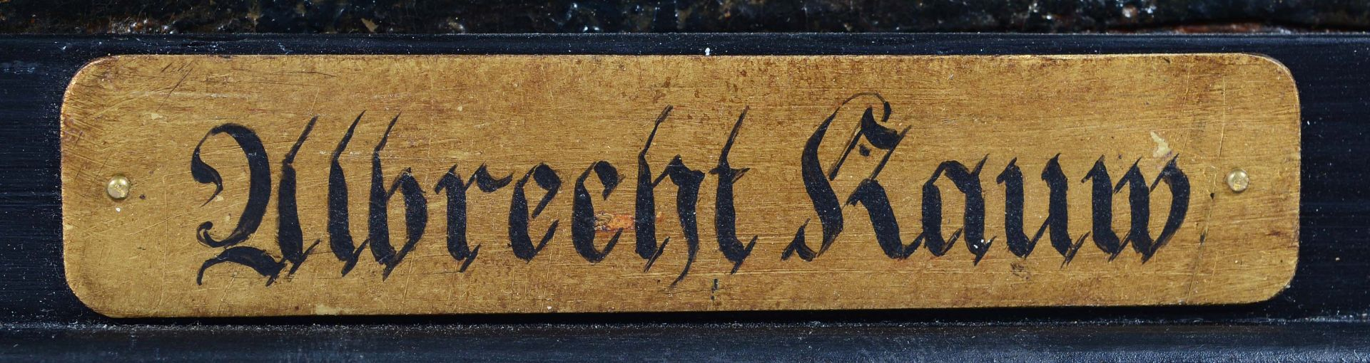 KAUW, ALBRECHT I: Die Seeschlacht. - Image 9 of 13