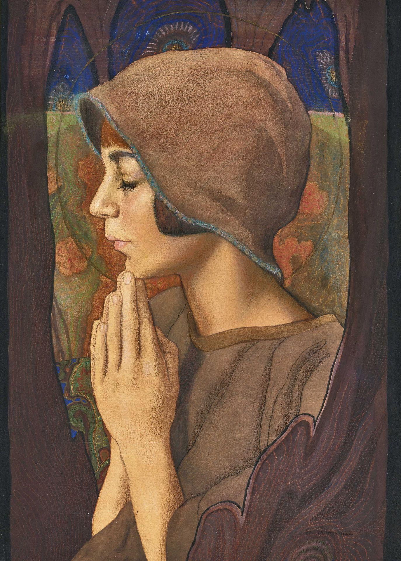 OLSOMMER, CHARLES-CLOS: La prière.