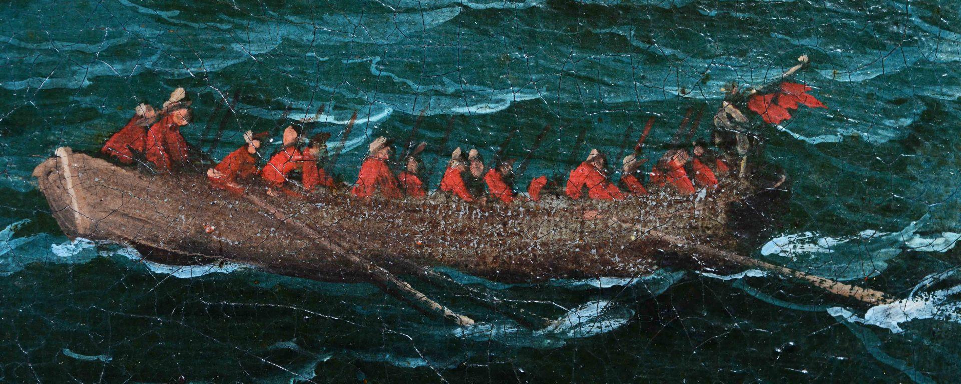 KAUW, ALBRECHT I: Die Seeschlacht. - Image 7 of 13