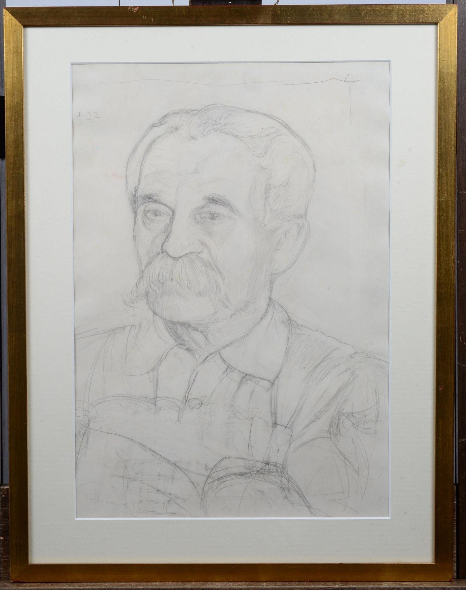 BIÉLER, ERNEST: Porträt des Chirurgen César Roux (1857-1934). - Image 2 of 2