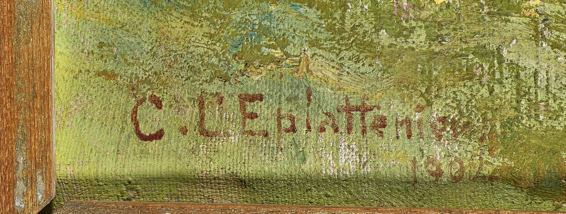 L'EPLATTENIER, CHARLES: Le printemps dans Jura. - Image 3 of 4