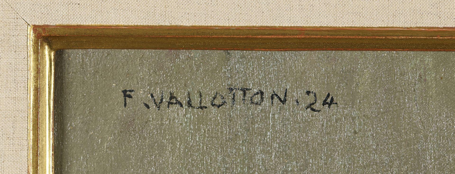 "VALLOTTON, FÉLIX: ""Panier de prunes"". - Image 3 of 9"