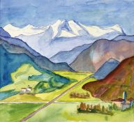 "HESSE, HERMANN: ""Agno-Tal und Verzasca-Berge""."