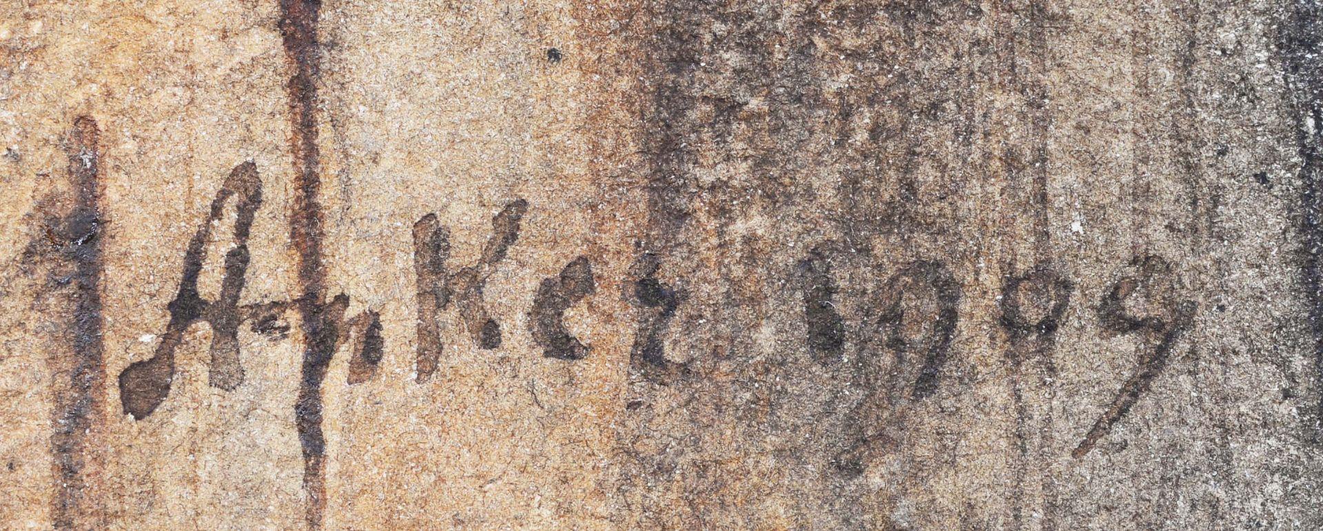 ANKER, ALBERT: Der Organist. - Image 4 of 6
