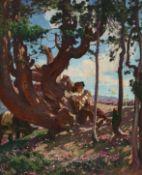 RAVEL, ÉDOUARD: Jeune berger jouant la flûte (Chandolin).