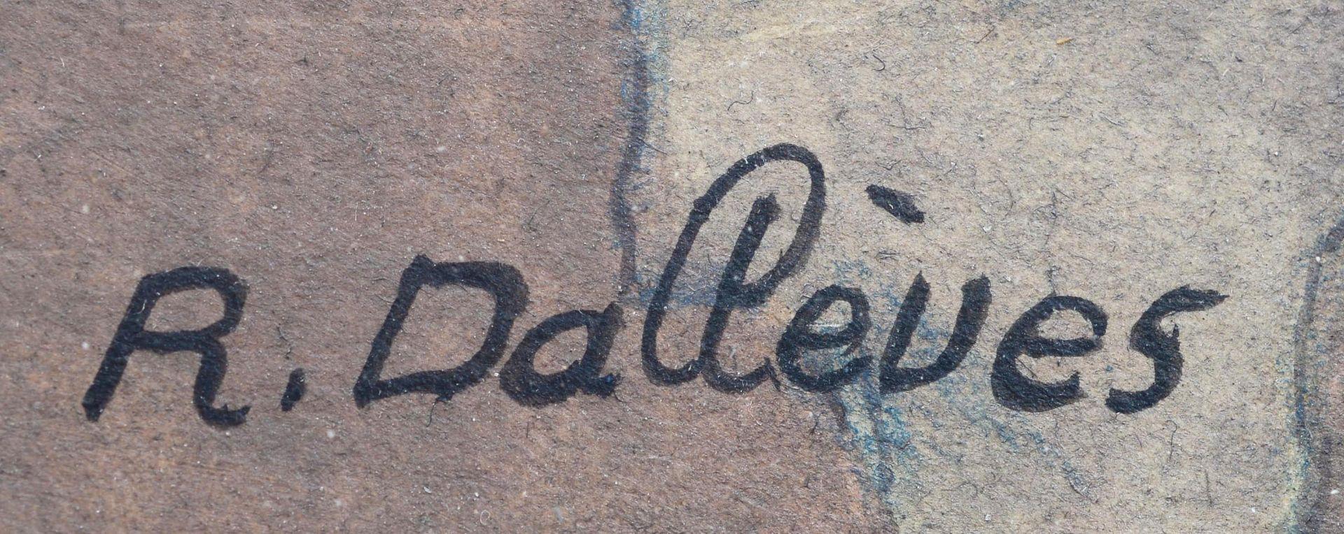 "DALLÈVES, RAPHY: ""Après l'office (Hérémence)"". - Image 5 of 6"