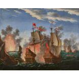 KAUW, ALBRECHT I: Die Seeschlacht.