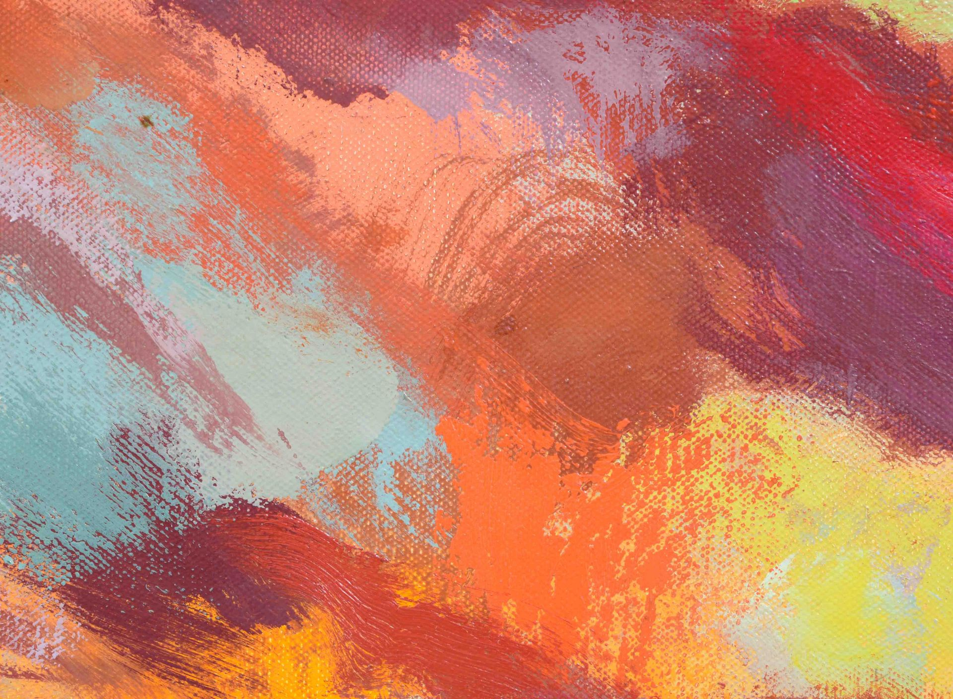"""MANESSIER, ALFRED: """"Paysage Flamboyant"""". - Image 5 of 8"""