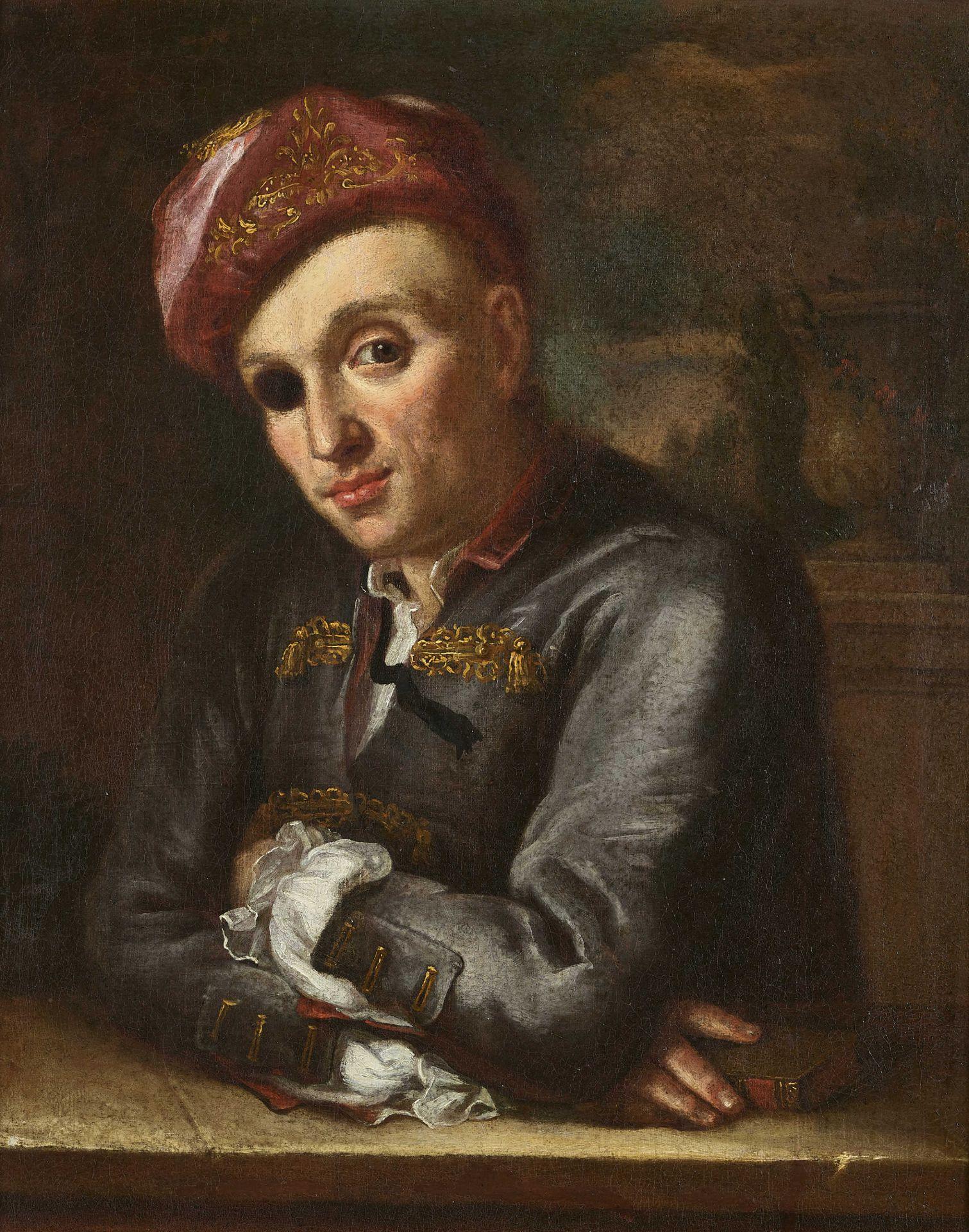 HANDMANN, JAKOB EMANUEL, Umkreis - Circle: Porträt von Johann Rudolf Sinner (1702-1782).
