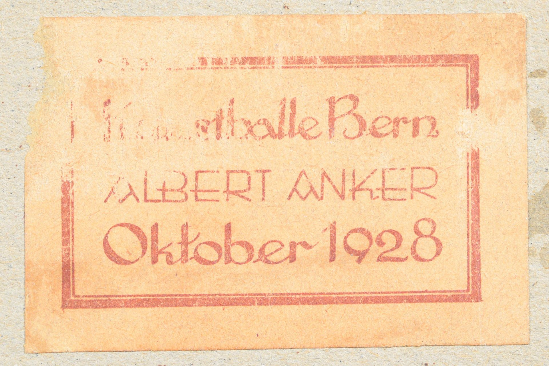 """ANKER, ALBERT: """"Berner Mädchen"""". - Image 5 of 7"""