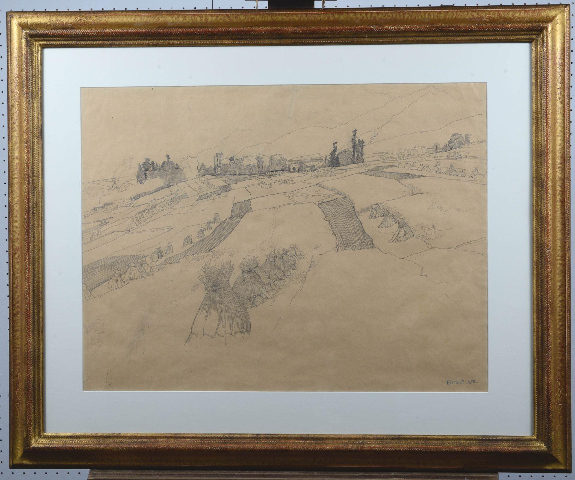 BIÉLER, ERNEST: Gerbes de blé. - Image 2 of 3