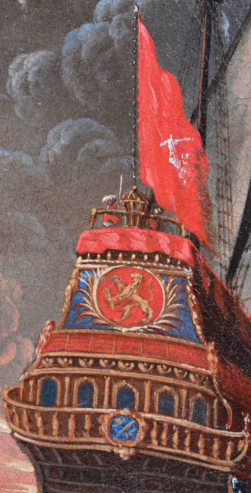KAUW, ALBRECHT I: Die Seeschlacht. - Image 5 of 13