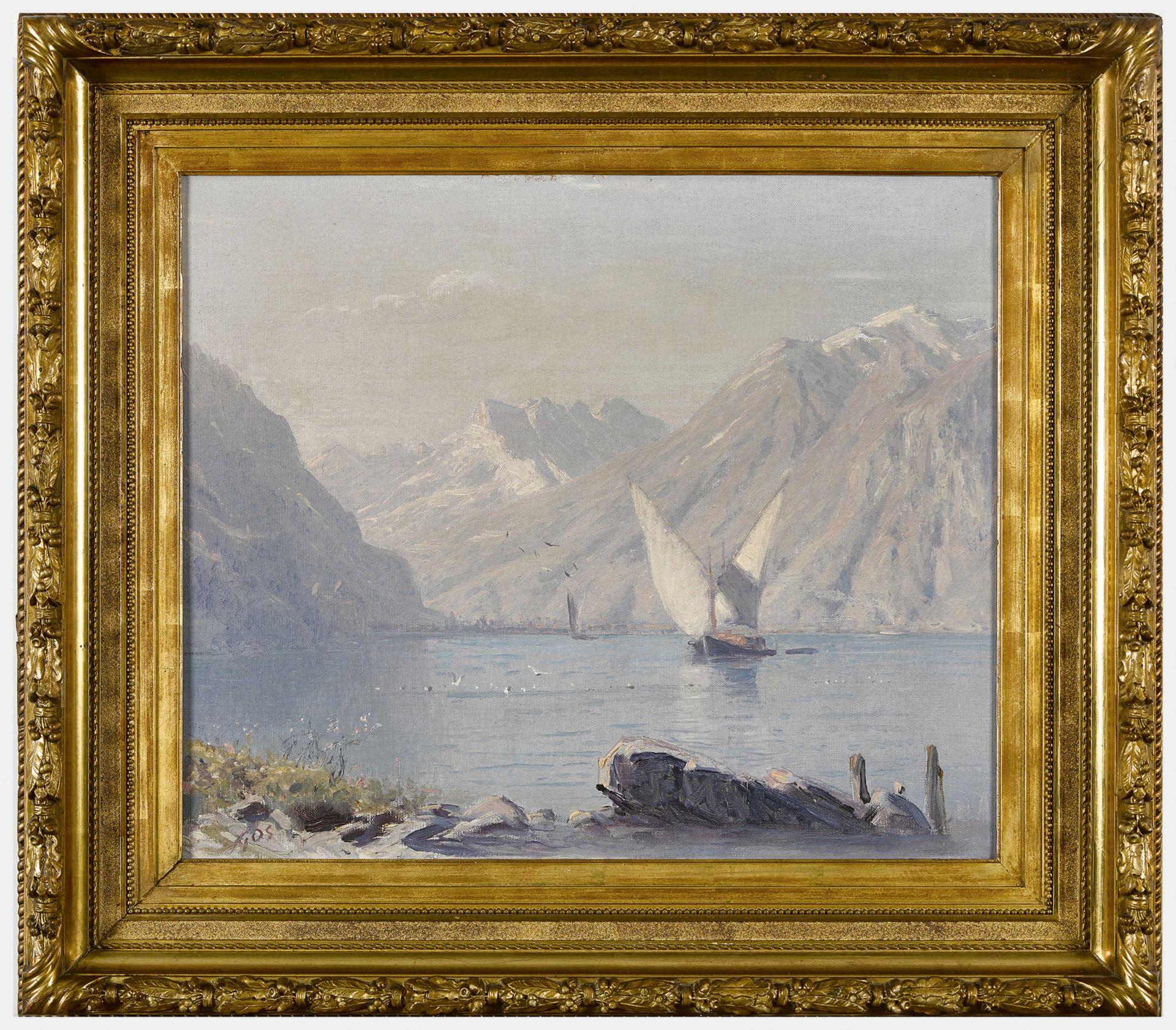 GOS, ALBERT HENRY JOHN: Lac Léman et Dents du Midi. - Image 2 of 2