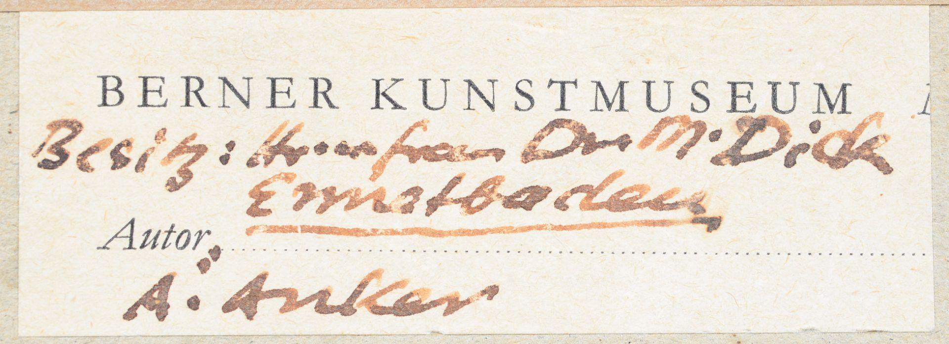 """ANKER, ALBERT: """"Berner Mädchen"""". - Image 7 of 7"""