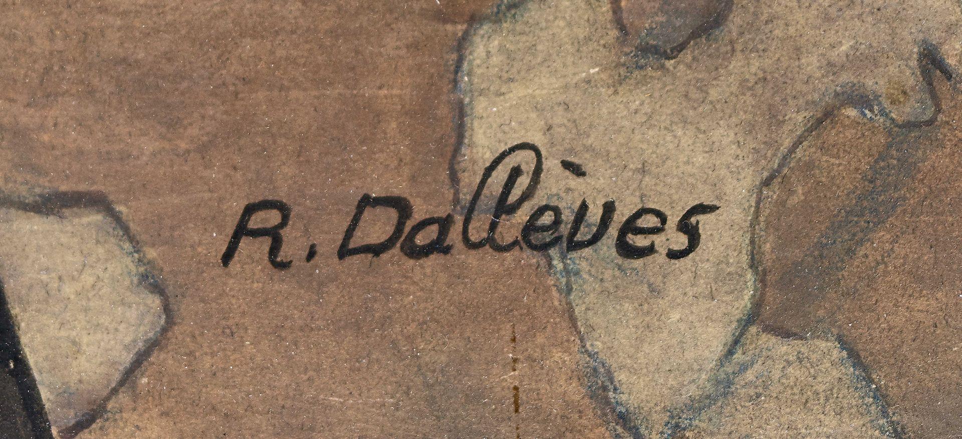 "DALLÈVES, RAPHY: ""Après l'office (Hérémence)"". - Image 3 of 6"