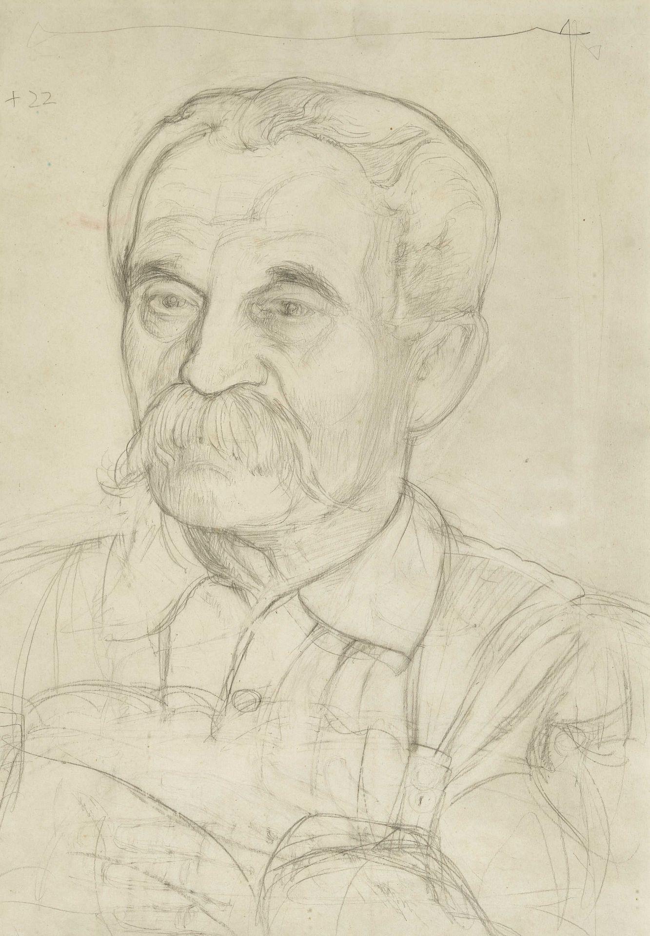 BIÉLER, ERNEST: Porträt des Chirurgen César Roux (1857-1934).
