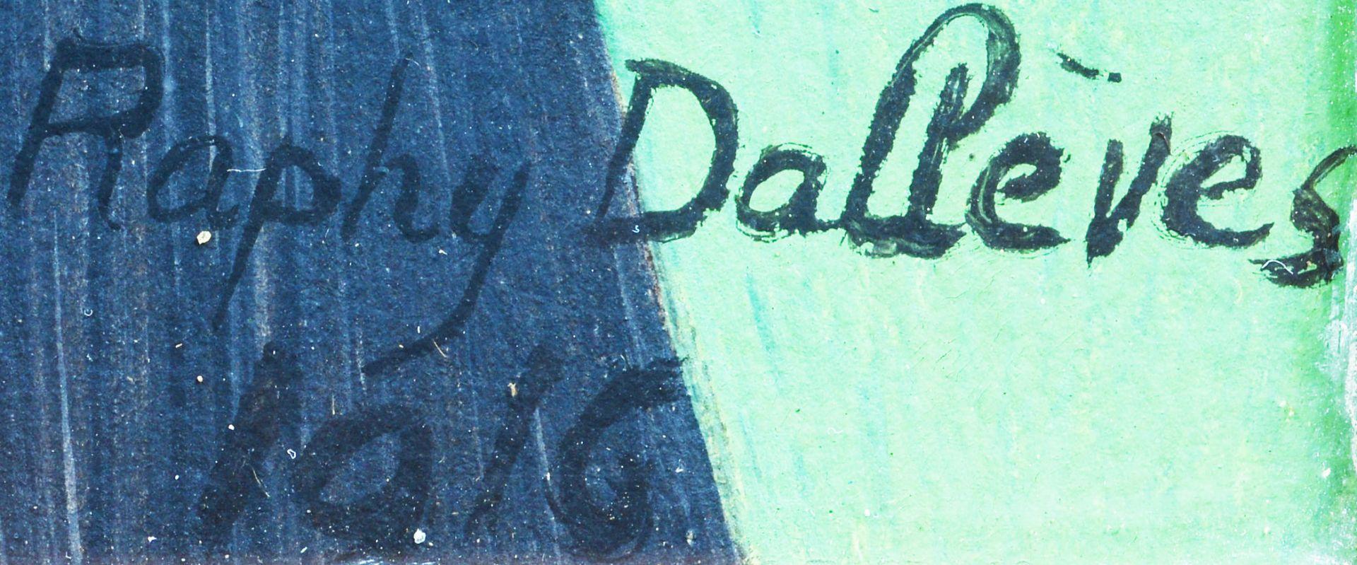DALLÈVES, RAPHY: Portrait d'une valaisanne. - Image 4 of 4